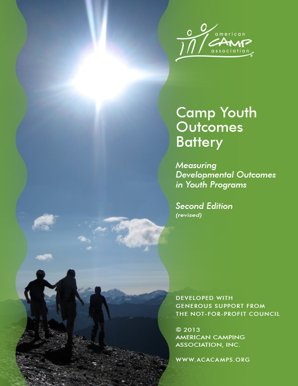 Measuring Developmental Outcomes in Youth Programs - Camp Youth Outcomes Battery